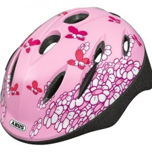 Fietshelm Abus Smooty Pink Butterfly